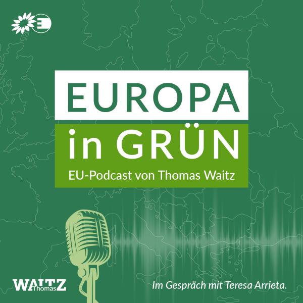 Europa in Grün