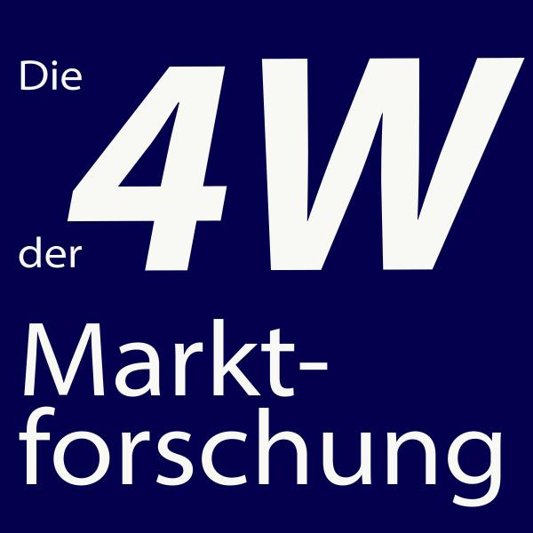 Die 4 W der Marktforschung