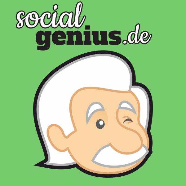 Social Media Podcast von socialgenius.de: Facebook Twitter Google Instagram und Content Marketing