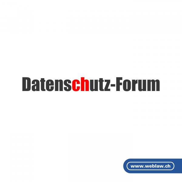 Datenschutz-Forum Schweiz