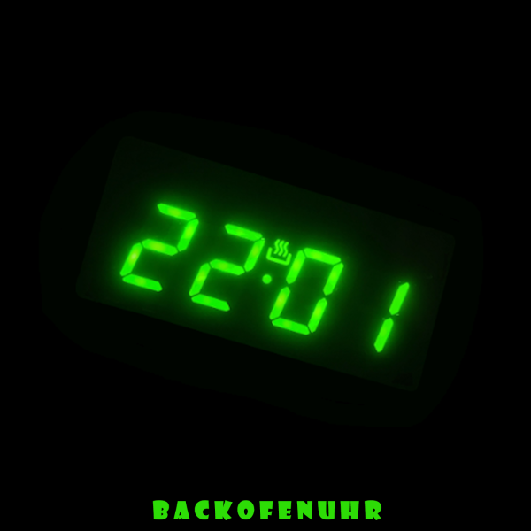 Backofenuhr