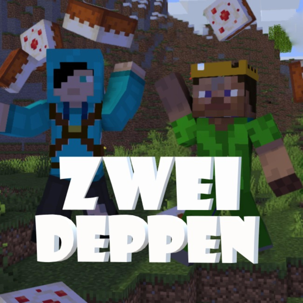 Wie zwei Deppen Minecraft zocken