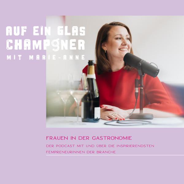 Auf ein Glas Champagner mit Marie-Anne