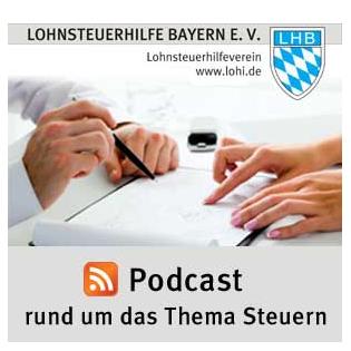 Podcast der Lohnsteuerhilfe Bayern e.V.
