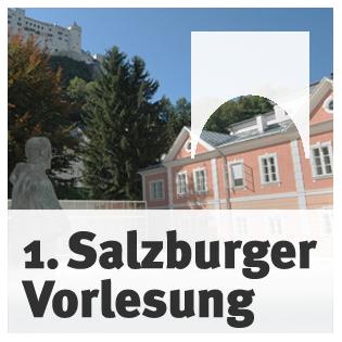 Erste Salzburger Vorlesung mit Dan Diner