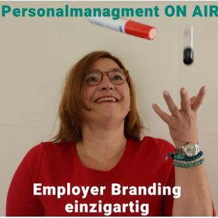 Personalmanagement ON AIR-Employer Branding einzigartig und rund