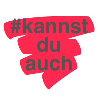 #kannstduauch