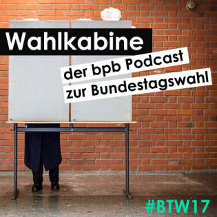 Wahlkabine - der bpb-Podcast zur Bundestagswahl