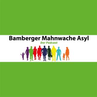 Bamberger Mahnwache Asyl mit Thomas Bollwein und Mirjam Elsel