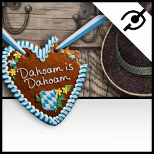 Dahoam is Dahoam - Audiodeskription