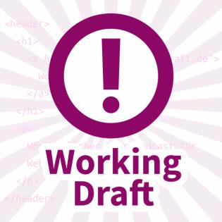 Working Draft