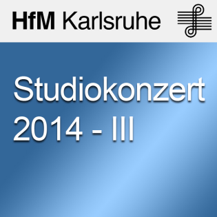 Studiokonzert 2014 - III - SD
