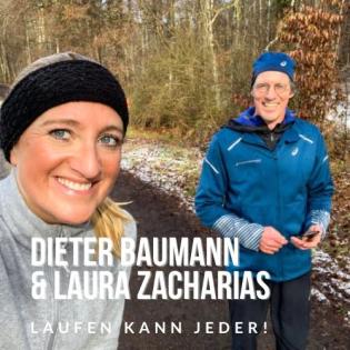 Dieter Baumann und Laura Zacharias: Laufen kann jeder