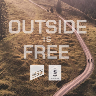 Outside is free