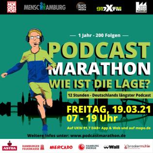 Podcast-Marathon - Wie ist die Lage?
