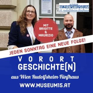 WIENfünfzehn: Vorort-Geschichte(n) aus Wien Rudolfsheim-Fünfhaus