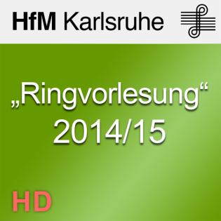 """Ringvorlesung"" 2014/15"