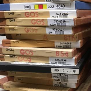 Die vier Säulen im SWR2 Archivradio