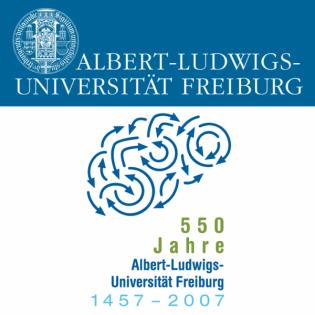 550 Jahre Albert-Ludwigs-Universität Freiburg 1457-2007