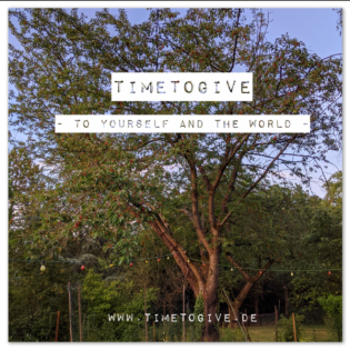 TimeToGive - To Yourself And The World