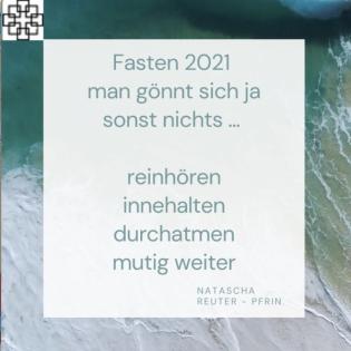 """Stadtkirche Biedenkopf -Fastenzeit 2021 """"kurz & knackig"""""""