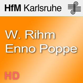 Gesprächsrunde: Wolfgang Rihm, Enno Poppe und Matthias Wiegandt - HD