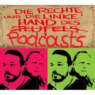 Die rechte und die linke Hand des Podcasts