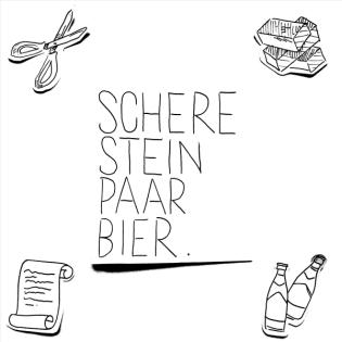 Schere, Stein, paar Bier
