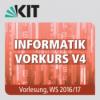Informatik Vorkurs V4, Vorlesung, WS 2016/17, 27.09.2016, 07