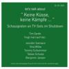 Talk 3 - KEINE KÜSSE, KEINE KÄMPFE Download