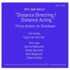 Talk 2 - DISTANCE DIRECTING / DISTANCE ACTING Download