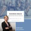 #016 Business Snack - Corona Learnings!