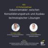 #033 - Industriemakler zwischen Konsolidierungsdruck und Ausbau technologischer Lösungen