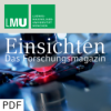 Einsichten - das Forschungsmagazin 01/2016