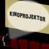 Kinoprojektor 05 (zwei Buchstaben - 3D)
