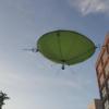 Drohne mit Heliumballon - die schwebende Innovation