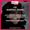 #51 - Marina Jemni - Virtuelle Assistenz in der Immobilien und Versicherungsbranche