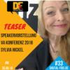 DFP Teaser #33. Speakervorstellung zur Virtuellen Assistenten Konferenz 2018 mit Sylvia Nickel.