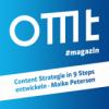 OMT Magazin #172   Content Strategie in 9 Steps entwickeln (Maike Petersen)
