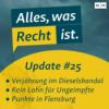 Update #25: Kein Lohn für Ungeimpfte, Punkte in Flensburg & Verjährung im Dieselskandal