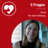 5 Fragen an Anna von StreetChild