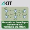 Theoretische Grundlagen der Informatik, Vorlesung, WS 2016/17, 24.01.2017, 15