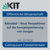 Podiumsdiskussion: Innovative Energiespeicherung - Szenarien und Trends der Zukunft - Impulsvorträge