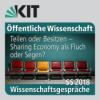 4. Wissenschaftsgespräche, SS 2018 - Podiumsdiskussion