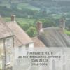 Postkarte Nr. 9 an die englische Autorin Joan Aiken