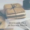 Postkarte Nr. 1 an die englische Kinderbuchautorin Beatrix Potter