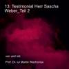 13: Testimonial Herr Sascha Weber Teil 2