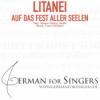 Litanei auf das Fest Aller Seelen (Jacobi / Schubert) - normal speaking tempo