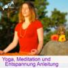 Spirituelle Yogastunde mit Mantrawiederholung und Öffnen für göttliche Gegenwart