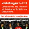 Werbeblogger Podcast #13: Slow Media. Mehr Genuss, weniger Fastfood?